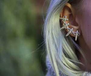 jewelery, earcuff, and leivankash image