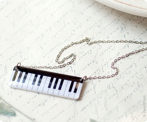 etsy, jewelry, and piano image
