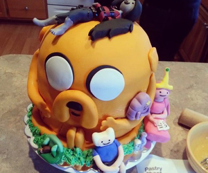 adventure time, cake, and JAKe image