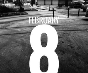 8, date, and february image