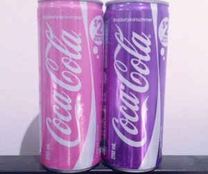 pink, purple, and drink image