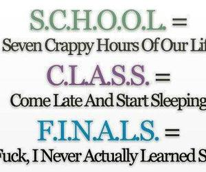 class, fuck, and grades image