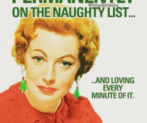 christmas, list, and naughty image
