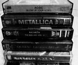 metallica, ac dc, and iron maiden image