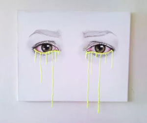art, eyes, and white image