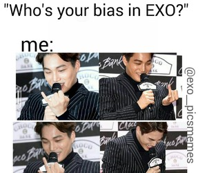 exo, funny, and kai image