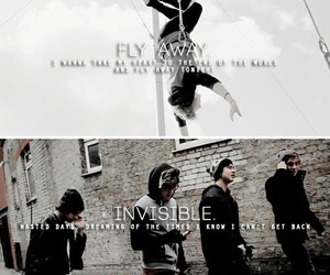 fly away, invisible, and 5sos image