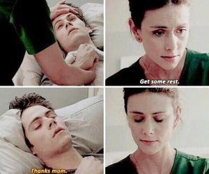 teen wolf, stiles, and mom image