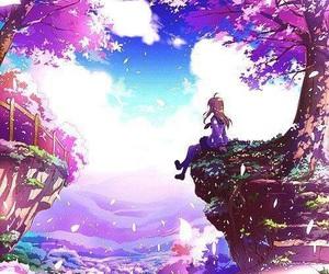anime, sakura, and anime girl image