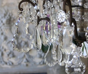 decor, interior, and crystal chandelier image