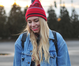blonde, fashion, and levis image