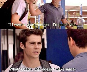 coach, teen wolf, and stiles image