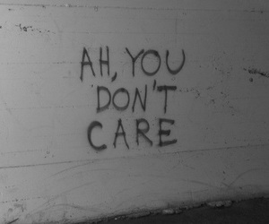 quotes, care, and sad image