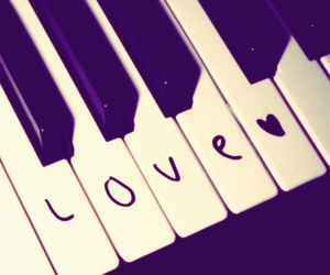 love and piano image