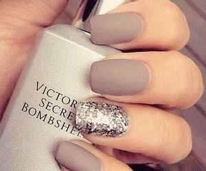 bombshell, glitter, and nails image