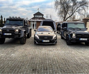 cars, mercedes, and luxury cars image