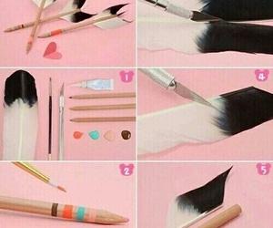 diy, pencil, and arrow image