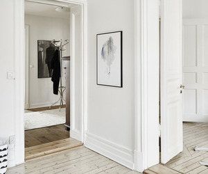 interior, white, and home image