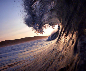 waves, water, and ocean image