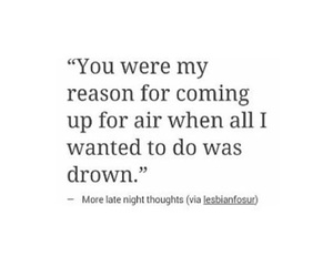 air, drown, and quotes image