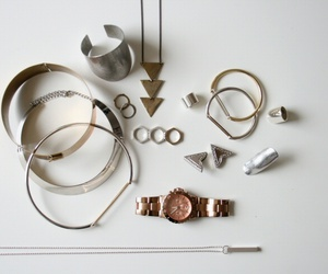 jewellery, silver, and metal collar image