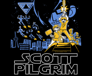 comic and scott pilgrim image