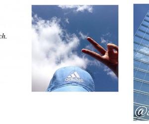 header, blue, and sky image