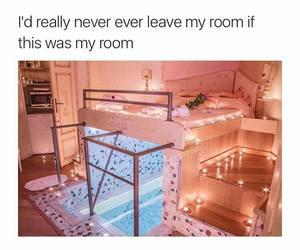 room and pool image