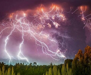 nature and lightning image