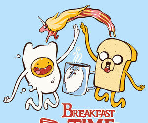 breakfast, finn, and human image