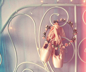 ballet, pink, and dance image