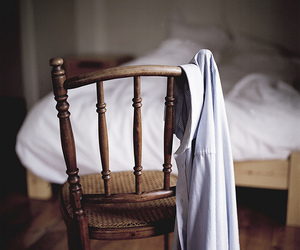 bed, chair, and photography image