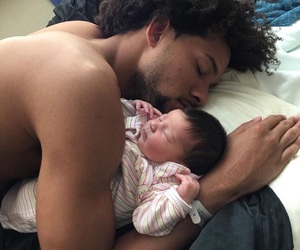 baby, daddy, and cute image