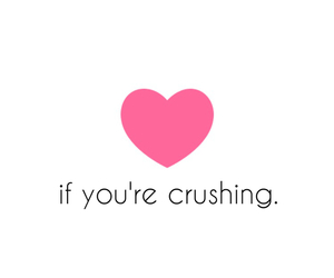 crush, heart, and like image