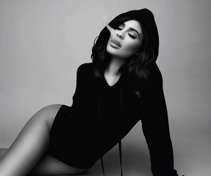 black and white, sexy, and fashion image
