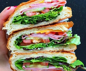 food, sandwich, and fitness image