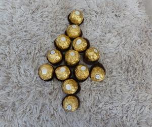 chocolate, christmas, and ferrero rocher image