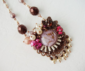 accessories, crystal jewelry, and crystal necklace image