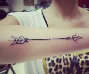 tattoo and arrow image