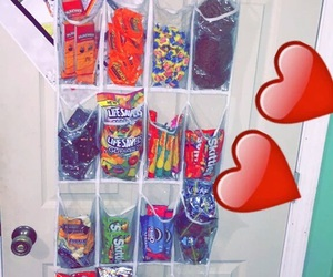 food, bedroom, and candy image