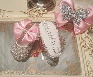 bow, shoes, and babies stuff image