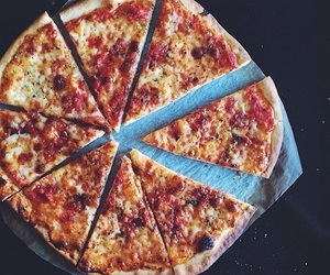 pizza, food, and eat image