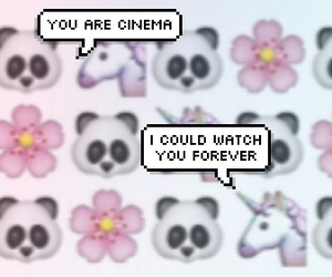 cinema, panda, and skrillex image