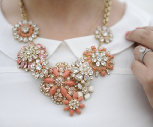 necklace, fashion, and white image