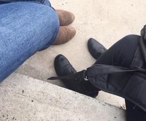 black, indie, and friends image