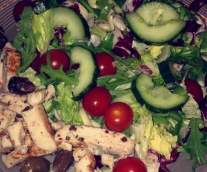 delicious, fit, and meal image