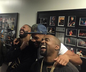 Drake, kanye west, and will smith image