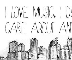 music, quotes, and city image