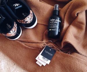 adidas, brown, and tan image