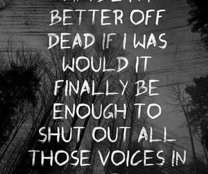 sleeping with sirens, better off dead, and sws image